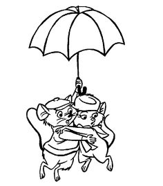 24 Best Disney The Rescuers coloring pages Disney images