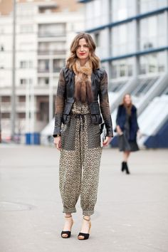 Amanda Brooks shows her French bohemian side in Isabel Marant.
