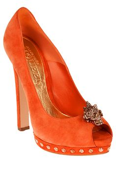 Alexander McQueen - Women's Shoes - 2012 Spring-Summer #cuteshoes #womensclothing #womensfashion