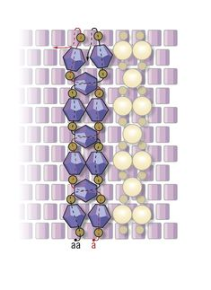 Crystal peyote bracelet Figure 2