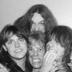 Metallica in the early days!
