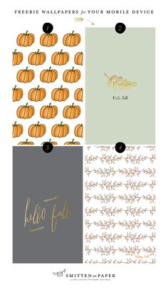 Welcome Fall with these Freebie Wallpapers - Smitten on Paper