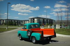 '55 Fargo-is there life after the job for an old Canuck truck? Read more: http://www.mystarcollectorcar.com/3-the-stars/star-truckin/2741-july-2015-55-fargothe-true-test-of-commitment-to-an-old-ride.html #55Fargo #pickup
