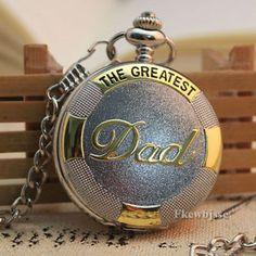 Gift-for-Dad-Steampunk-Vintage-Necklace-Pocket-Watch-Relojes-Bolsillo-Cuarzo