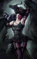 Fairy Of Night by aStripedUnicorn