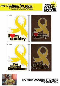 Sticker  Designer: Alvin Gilbert Dc. Gonda  Email: abugonda@yahoo.com