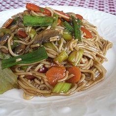 Vegetarian Rice Stick Noodle
