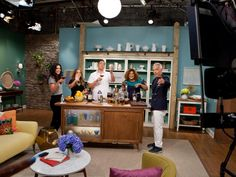 The Kitchen Jeff Mauro behind the scenes of thanksgiving at bobby's | katie lee and