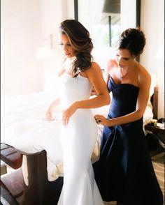 Eva Longoria on why Victoria Beckham was her perfect wedding dress designer
