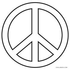 Best Coloring: Peace sign print out coloring pages - Amazing Coloring sheets - A number of peace symbols have been used many ways in various cultures and contexts. The dove and olive branch was used symbolically by early Christia. Mandala Coloring Pages, Coloring Pages To Print, Free Coloring Pages, Printable Coloring Pages, Coloring Sheets, Coloring Book, Peace Sign Images, Peace Sign Art, Peace Signs