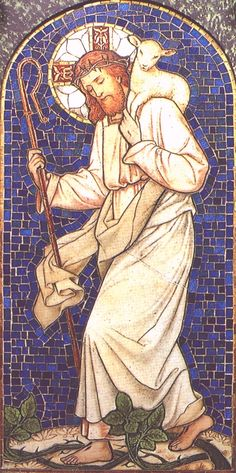 """The Good Shepherd - as per our Gospel readings for today and yesterday - Lent Wk. IV - in fact, the fourth Sunday of Lent is called """"Good Shepherd Sunday"""" because of the Gospel"""