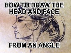 How to Draw the Head and Face from an Angle | Hildur.K.O  #drawing #howto #howtodraw