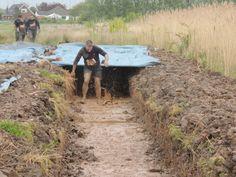 EEC crawling through mud tunnels!