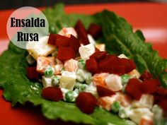 Bring in the Spanish factor to your supper meals; a Spanish style Russian Salad is something you must try!