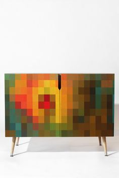 Madart Inc. Glorious Colors Credenza | DENY Designs Home Accessories