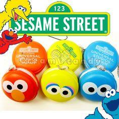 sesame street macaron squishy licensed RARE squishy shop japan goodies buy online