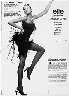 The Model Archives of Marlowe Press   Elite (New York)1987