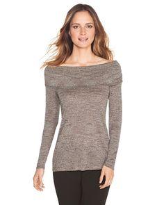 White House   Black Market Space Dye Sweater #whbm