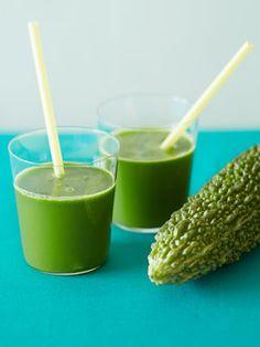 【ELLE a table】ゴーヤーのグリーンジュースレシピ|エル・オンライン