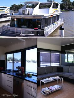 A houseboat in Mildura, Australia.  http://www.notquitenigella.com/2013/05/17/a-houseboat-on-the-murray-mildura/