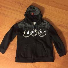 Girls Disney Sweatshirt Jack Skellington Disney Parks Sweatshirt. Excellent condition - Size 5 Disney Other
