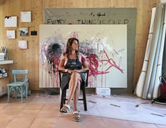 The Memory of Your Touch - Tracey Emin at Xavier Hufkens Gallery Weekend, Tracey Emin, Royal Academy Of Arts, Painting Workshop, English Artists, A Level Art, Royal College Of Art, Creative Studio, Great Artists