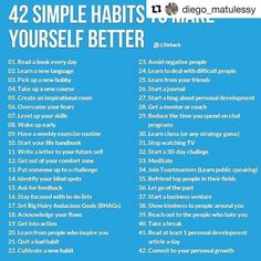 Motivational Quotes 42 Practical Ways To Improve Yourself happy life happiness positive emotions lifestyle mental health confidence self improvement self help emotional health Self Development, Personal Development, How To Better Yourself, Improve Yourself, Focus On Yourself, Business Intelligence, Best Self, Self Esteem, Better Life