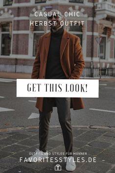 Erfahre welche Teile dazu passen! Casual Chic Herren Outfit. Herbst-Look mit Stoffhose, Rollkragenpullover, Wollmantel und Sneaker. Ein schickes Outfit im Urban-Style für die Freizeit und bei der Arbeit. Outfits für Männer mit passenden Teilen bei Favorite Styles. #favoritestyles #mode #fashion #outfit #männer #herren #style #stil #männermode #herrenmode #mensoutfit #mensfashion #ideen #inspiration #herbst #casual #chic #urban #lässig #freizeit #rollkragen #b