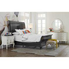 Hooker Furniture Twin Peak Sleigh Bed - 1586-90560-BLK1