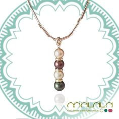 #colgante con cadena de #oro de #perlas golden verde y marrón  #necklace #gold #pearl #accesories #diseñoExclusivo #elegancia #fashion #femenino #fino #gift #guapa #handmade #hautecouturejewelry #instafashion #jewel #joya #joyeria  #joyeriadediseño #ladies #MadeinSpain #madrid #magia #MalalaDePerlas