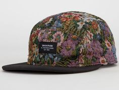 "5-Panel Fridays: SHAW PARK ""Brocade"" 5-Panel Cap"