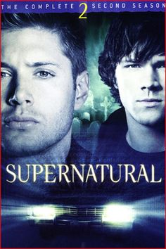 Supernatural Season 2 DVD cover.