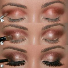 Eyes, perfect make up