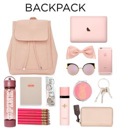 """""""Sin título #407"""" by karlamichell on Polyvore featuring moda, New Look, Fendi, Givenchy, The Horse, Yves Saint Laurent, Miss Selfridge, Pusheen, backpack y inmybackpack"""