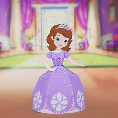 Disney Celebrate - Sofia the First 3D Papercraft