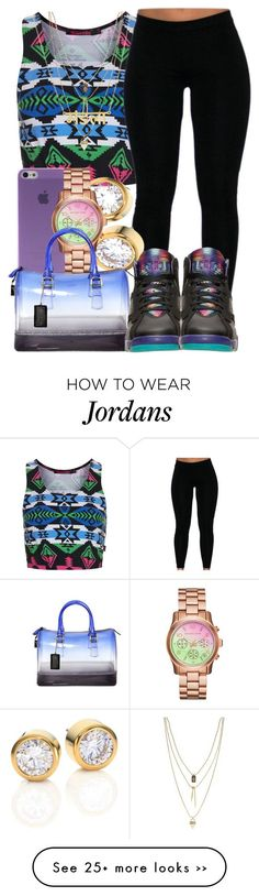 """8/30/2015"" by starpretygirl on Polyvore featuring Topshop, Caso, Michael Kors, Furla and Vince Camuto"