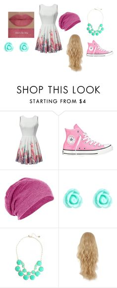 """""""Spring!"""" by geekygal2003 ❤ liked on Polyvore featuring Converse, Accessorize and She's So"""
