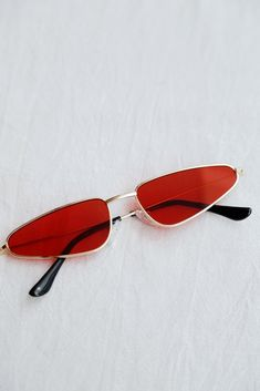 Lucia Sunnies (Red)