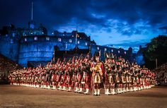 The Massed Pipes and Drums by Richard Findlay,