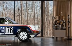 Ferris Bueller's House & a Rothmans Porsche 911 Rally Tribute Car by jeremycliff, via Flickr