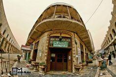 Shahbandar cafe in Baghdad مقهى الشاهبندر في بغداد