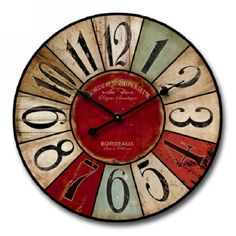 Top Retro home decor ideas - Positively Notable steps. retro home decor shabby chic wonderful tip number 4305089185 generated on this day 20190326 Shabby Chic Wall Clock, Baños Shabby Chic, Cocina Shabby Chic, Estilo Shabby Chic, Shabby Chic Living Room, Shabby Chic Interiors, Shabby Chic Bedrooms, Shabby Chic Kitchen, Shabby Vintage