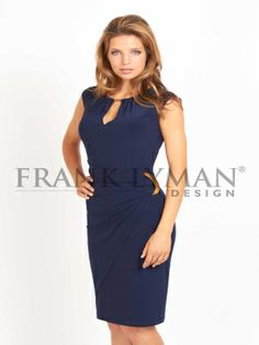 SLEEVELESS DRESS WITH GOLD ACCENTS   Frank Lyman (sku: 36046) Your Price: $195.00 CAD (per Item)