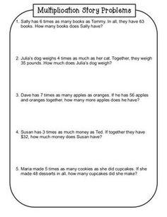 4th grade common core math lesson 4 oa 1 4 oa 2 multiplicative comparison back to school. Black Bedroom Furniture Sets. Home Design Ideas