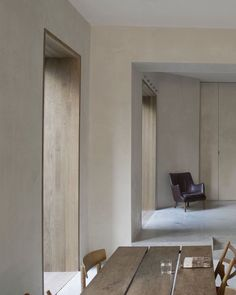 Minimalist home and office space in Berlin Residential Architecture, Interior Architecture, Design Hotel, Pretty Things, Moraira, Light In, Modern Farmhouse Exterior, Interior Trim, Minimalist Home