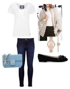 """""""Casual"""" by maryemmanuel on Polyvore featuring Levi's, Superdry, Boutique Moschino and Michael Kors"""