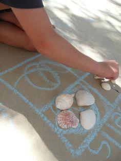 Shell activities, so many great ideas.  Math, shapes, writing.