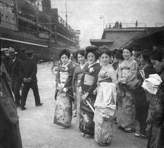 ภาพเก่า ชาวญี่ปุ่น