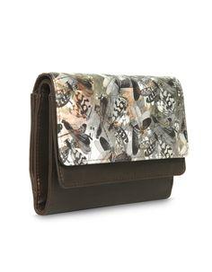 LW Smoothy Bindas Brown - A functionally versatile brown wallet by Baggit