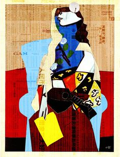 Picasso Women 3 by Marko Köppe (German contemporary artist)